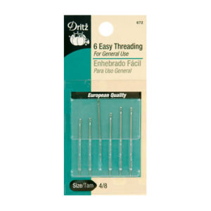 6 Size 4/8 Easy Threading Needles
