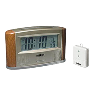 Atomic Talking Clock With Alarm & Temperature Sensor