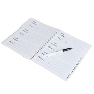 Big Print Address Book