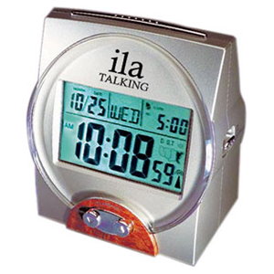 Designer Talking Atomic Clock and Calendar