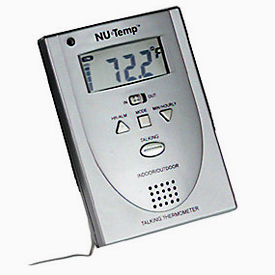 Indoor/Outdoor Talking Thermometer
