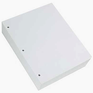 Lightweight Braille Paper 8.5 x 11 inches 3 Hole Punched