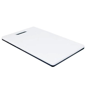 Low Vision Black and White Cutting Board