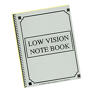Low Vision Notebook ' Thick Lines