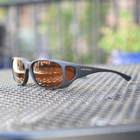 Low Vision Cocoon Wrap Around Sunglasses