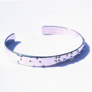 Braille Cuff Bracelet