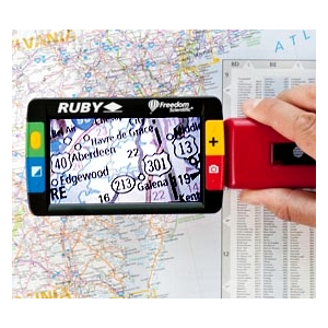 Ruby Handheld Magnifier