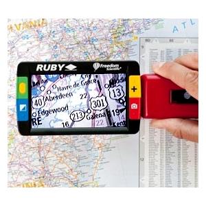 Ruby Handheld Magnifier