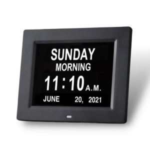 Large Print LED Date Clock